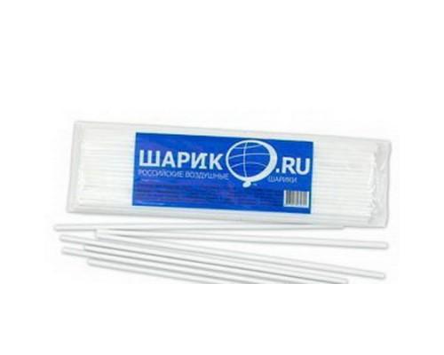 Палочка-держатель для воздушных шаров белая БЕЗ СКИДКИ
