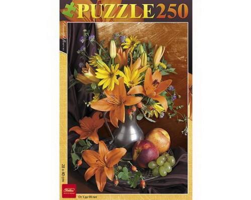 ПАЗЛ 250 элементов Букет цветов