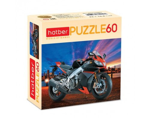 ПАЗЛ 60 элементов MotorBike