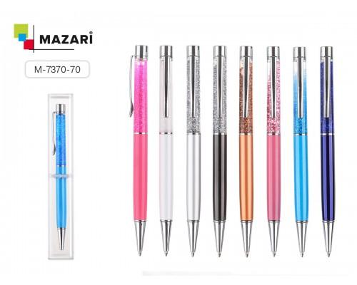 Ручка подарочная LAVA 0,7мм металлический корпус Синяя