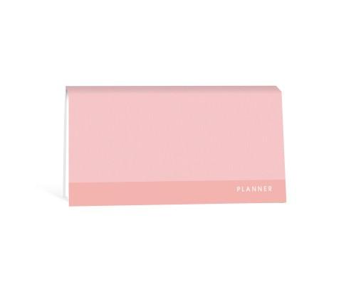 Планинг недатированный 64 листа Розовый