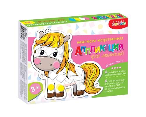 Мягкая картинка для малышей (в коробке). Домашние животные 3925