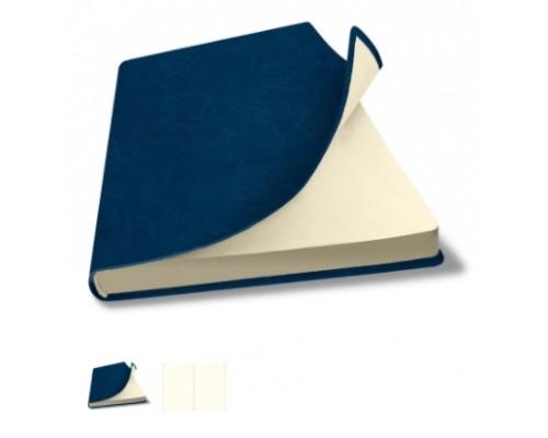 Скетчбук А5 80 листов Salut FLEX синий кремовый блок