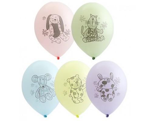"""Воздушные шары Зверюшки-игрушки 14"""""""
