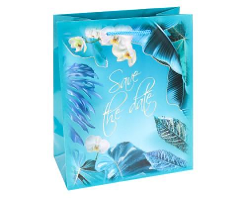 Пакет подарочный с глянц.лам.32,4х44,5х10,2 см ( XL ) Роскошные тро